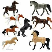 Breyer Horses Stablemates Deluxe Horse Collection | 8 Horse Set | Horse Toy |...