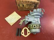 1954 1955 1956 Chevrolet Cars And Trucks 6 Cyl Fuel Pump Carter M2430s Nos