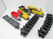 Caterpillar Train Diesel Engine Cars And Tracks Motorized Toy State Tested