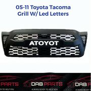 2005-2011 Toyota Tacoma Grill W/led Letters