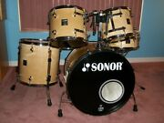 sonor Sonic Plus 5-piece Drum Set Birch 1996 All Suspended Sound Of Cannons