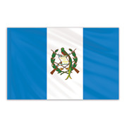 Global Flags Unlimited 201940f Guatemala Indoor Nylon Flag With Seal 3'x5' With