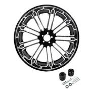 18and039and039 Rear Wheel Rim Hubs Fit For Harley Touring Street Glide 2008-2021 Non Abs