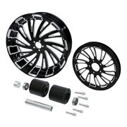 18and039and039 Rear Wheel Rim Hub And Belt Pulley Sprocket Fit For Harley Touring 2008-2021