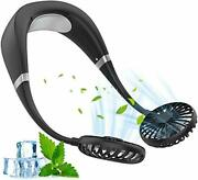 Prevent The Neck Fan Hanging Neck Fan Usb Charging 360 Three Rotational Speed Ad