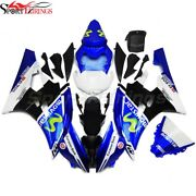 Injection Blue White Abs Plastic Kit Fairing For Yamaha 2006-2007 Yzf R6 Yzf600