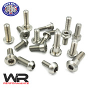 Kawasaki Kle 650 F Versys Abs 2015-2019 Stainless Steel Front Brake Disc Bolts