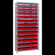 Quantum Storage Systems 1275-109 Steel Shelving With Plastic Bins