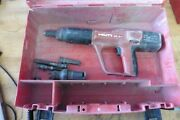 Hilti Dx A 41 Dxa41 Powder Actuated Concrete Fastener Gun And Wrong Case And Extras