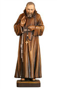 Padre Pio Of Padre Statue Wood Carved