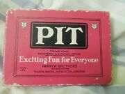 Vintage 1919 Parker Brothers Card Game Pit Bull And Bear Edition Complete Set