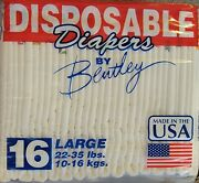 Vintage Diapers Plastic Backed