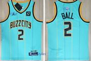 New Roy Lamelo Ball Charlotte Buzz City Menand039s Jersey Nwt Stitched