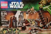 Lego Star Wars Duel On Geonosis 75017 2013 With A Substitute Count Dooku