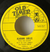 Alabama Jubilee, Oh Johnny Called By Cal Golden Old Timer Records 8041 45 Rpm