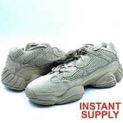 Adidas Yeezy 500 Taupe Light Gx3605 Size 8 And 9.5   In Hand Free Fast Shipping