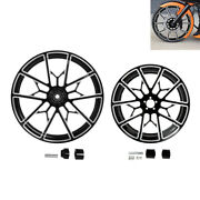 21and039and039/23and039and039/26and039and039/30and039and039 Front+18and039and039 Rear Wheel Rim Hub Fit For Harley Touring Non Abs