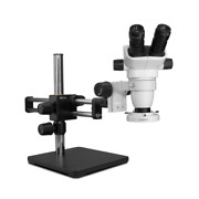 Scienscope Sz-pk5d-e1 Ssz Stereo Zoom Microscope With Compact Led Light On Dual