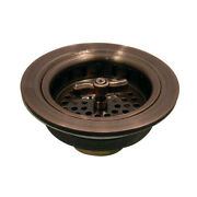 Gourmet Scape K212ac K212ac Tacoma Spin And Seal Sink Basket Strainer, Antique