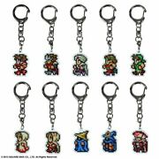 Final Fantasy All The Bravest Metal Keychain 29 Type Set Limited Edition
