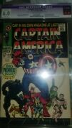 Captain America 100 Cgc 6.0 103 .105.106 100 Graded 6.0 Others Not Graded
