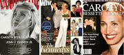 Lot Of 3 Magazines With George Founder John Jfk Kennedy Jr And Carolyn Bessette Vg