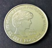 British 5 Pounds 1999 - Diana Princess Of Wales Commemorative Coin - Low Mintage