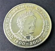 British 5 Pounds 2002 - The Queen Mother Commemorative Coin - Low Mintage