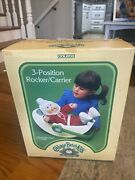 Coleco Cabbage Patch Kids Lot New Sealed Doll Rocker Shoes Diapers Travel Bed