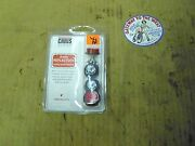 Chris Products Mini Reflectors, License Plate Fasteners, P/nch4r.