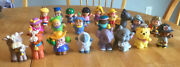 Fisher Price Little People Figures Lot