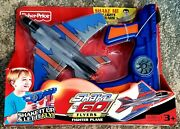 Rare 2006 Fisher Price Shake N Go Flyers Fighter Plane New In Factory Sealed Pkg