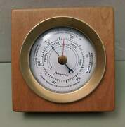 Airguide Instruments Mid Century Modern Weather Station Barometer