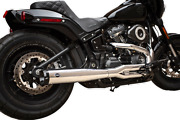 Sands Full Exhaust 50 State Super Street 2 Into 1 Chrome Harley M8 Softail