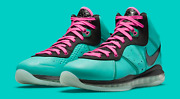 Nike Lebron 8 South Beach 2021 - Cz0328-400 In Hand Shipping Now Space Jam