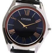 Citizen Eco Drive One 8826-t025463 Solar Powered Limited Quantity 220 _629863