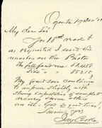 Jay Cooke - Autograph Letter Signed 12/19/1901