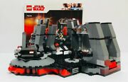 Lego Star Wars 75216 Snokeand039s Throne Room No Minifigures Free Shipping