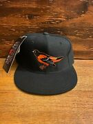 Vintage Baltimore Orioles Fitted Hat Cap New Era Pro Model 100 Wool Usa Mlbandnbsp