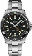 Midow M0266291105101 Ocean Star Menand039s Diver Watch Silver