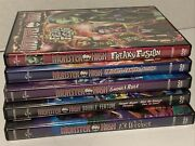 Monster High Dvd Lot 5 Dvds 6 Movies Ghouls Rule Friday Night Frights 13 Wishes
