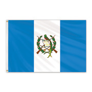 Global Flags Unlimited 201937 Guatemala Outdoor Nylon Flag With Seal 4'x6'