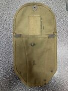 Vintage Us Military True Army Folding Trench Shovel Pouch