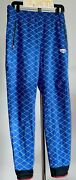 Nwt Nike Undercover Gyakusou Shield Blue Reflective Quilted Pants 743354 400 Szl