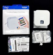 Brother P-touch Cube Bluetooth Wireless Smartphone Label Maker Pt-t300bt White
