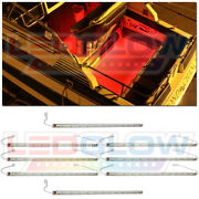 8pc Ledglow Red Led Boat Deck And Cabin Marine Neon Lighting Kit - Waterproof