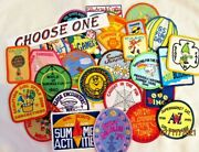New 28 Girl Scout Summer Fun Patches Activities Games Crafts Events Choose One