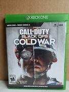 Call Of Duty Black Ops Cold War - Microsoft Xbox Series X s 4k Hdr