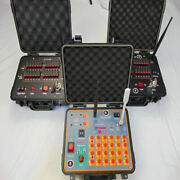 48 Cues Fireworks Firing System New Remote Control Panel For Farm-500m Distance