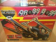 Power Machines Cross Boss New Blue With Orig Box And Instructions Rare Galoob 1985